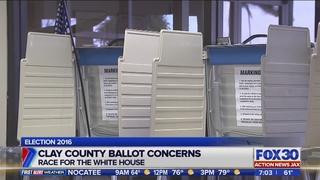 Clay County ballot concerns