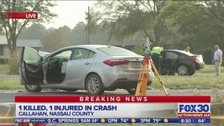 Woman killed in two-car crash in Callahan