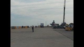 Photos: Iwo Jima returning from Haiti