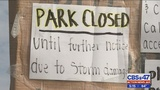 The City of Jacksonville closed the park until repairs were completed.