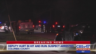 Man arrested for hitting Columbia County deputy has dozen arrests