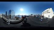 A 360 view from the top of the Omni Jacksonville Hotel.