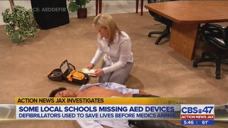 Investigation finds life-saving equipment missing from some Jacksonville schools