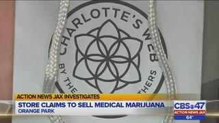 Orange Park shop claims to sell over-the-counter medical marijuana