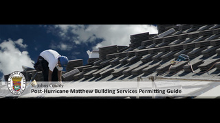 Post-Matthew Building Services Guide for St. Johns County