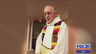 In the name of murdered St. Augustine priest, demonstrators come…