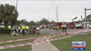 JSO: Teen dies after car runs red light at Beach Blvd. and St. Johns Bluff Rd.