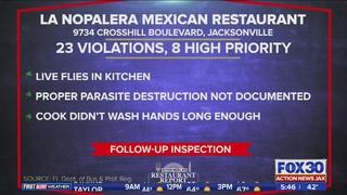 Restaurant Report: La NoPalera Mexican Restaurant cited by health inspector