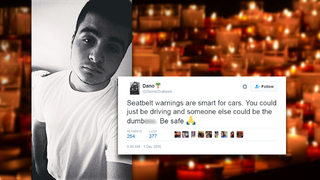 Sandalwood senior tweeted about car safety hours before death