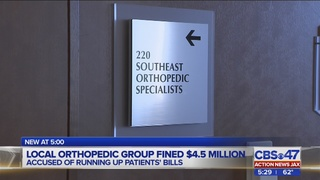 Southeast Orthopedic Specialists reach $4.5M settlement with government