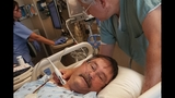 He needed a double lung transplant. His wife got in touch with Mayo Clinic and brought him to Jacksonville.