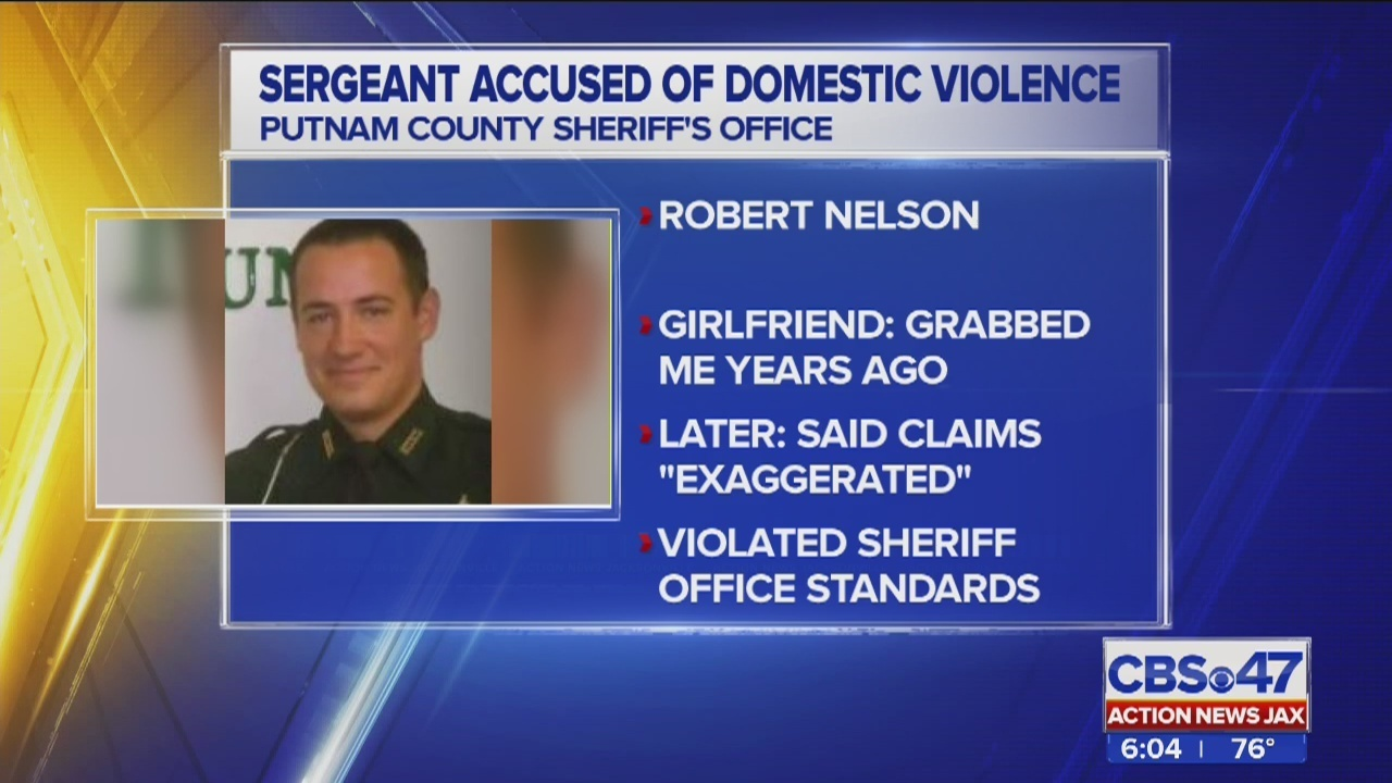 Putnam County sergeant resigns after being accused of