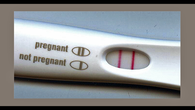 How can i get a positive pregnancy test