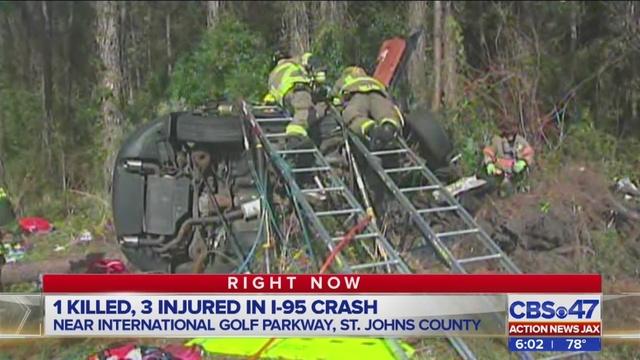FHP: Woman, child killed in crash on I-95 near World Golf
