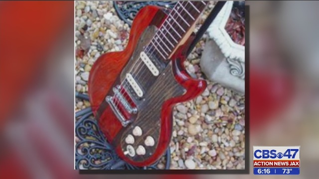 Irreplacable guitar stolen from Jacksonville Navy pilot | WJAX-TV