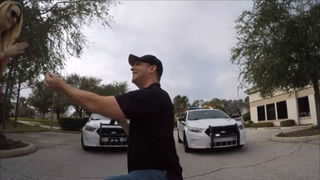 Video: Man asks St. Johns County deputies to help him propose