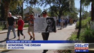 Honoring the dream in St. Augustine