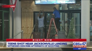 Police: 2 teens shot at Jacksonville Landing