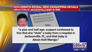 Arrest warrant: Alexis Manigo told a friend that she was kidnapped…
