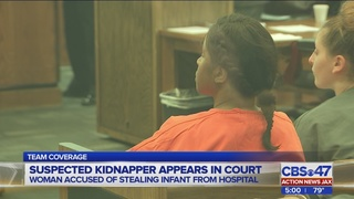Suspected kidnapper appears in court