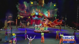 Ringling Brothers and Barnum and Bailey Circus visits Jacksonville for…