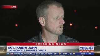 Jacksonville police talk about death investigation
