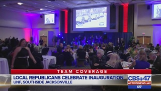 Local Republicans celebrate inauguration