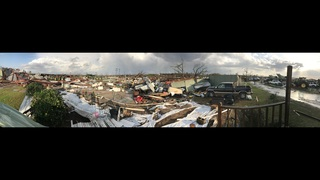 Witness to deadly South Georgia tornado: 'You could hear it … and feel it
