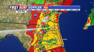Updates: Severe weather Sunday for Jacksonville, surrounding areas