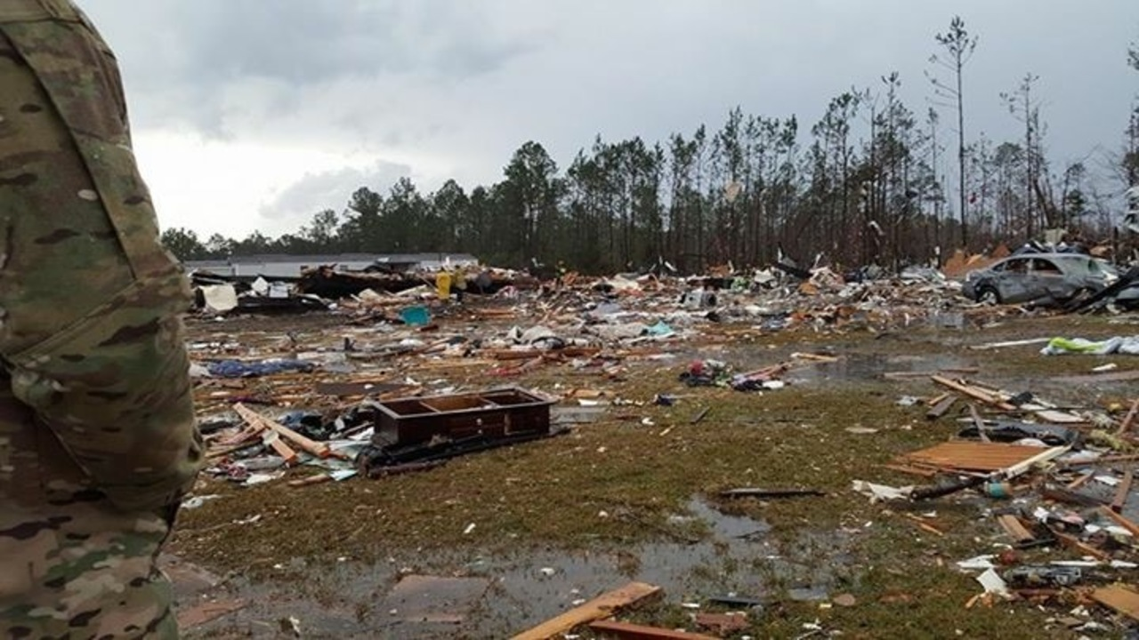 Photos Deadly Storm Hits Georgia