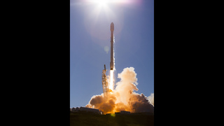 SpaceX Iridium-1 launch photos