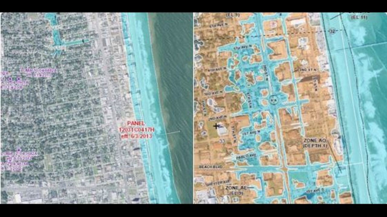 New Fema Flood Maps Show More Jacksonville Beach Streets Are At Risk