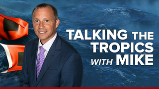 """Talking the Tropics With Mike"": ""Dora"" forms off Mexico coast - June 25th"