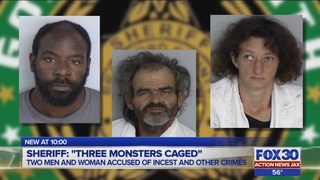 Man charged with incest, 2 others arrested for illegal sex acts in…