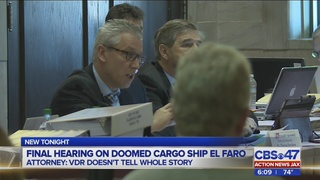 Questions over fatigue kick-off final round of El Faro hearings