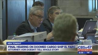 Questions over fatigue kick-off final round of El Faro hearings