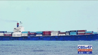 TOTE attorney says independent report on cargo lashing was developed in…