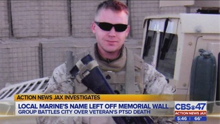Local veterans: Recognize fallen Marine with PTSD on Jacksonville