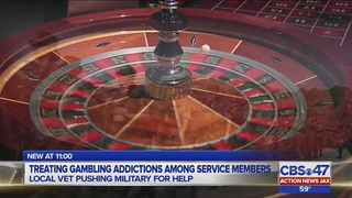 Veteran who lost millions wants military to screen for gambling addiction