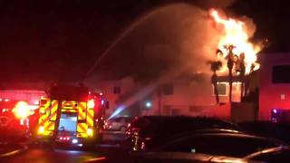 Raw video: St. Johns County Fire Rescue responds to fire at Tifton Cove…