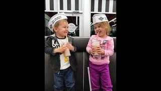 Kids can eat free at Steak