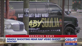 JSO: One dead, four injured after shooting near music video shoot in Moncrief