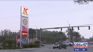 Jacksonville woman recovering after shot in head near gas station