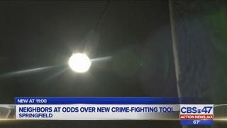 Neighbors at odds over new crime-fighting tool