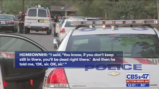 Homeowner shoots intruder, holds him at gunpoint in Jacksonville
