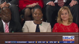 Trump talks about Jacksonville native during speech to Congress