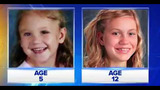 Haleigh Cummings (left) at age 5 when she disappeared and at right, what she would look like in an age progression photo released in 2016.