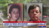 Arrest in teen's 1994 murder