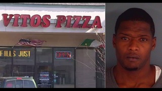 Clay County pizza delivery driver robbed, hit by car outside restaurant