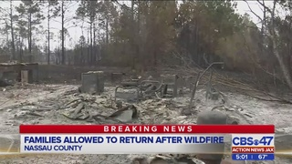 Updates: 100 homes were saved from Nassau County wildfire